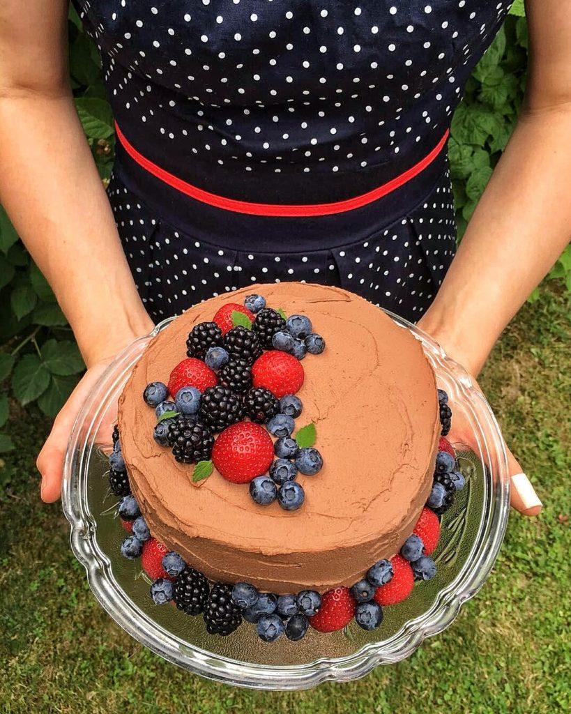 čokoladna torta od tikvica i avokada
