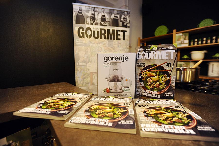 story gourmet gorenje kuharska radionica
