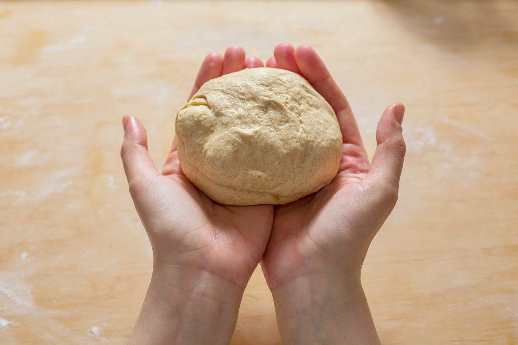 Making-of-flatbread